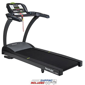 SportsArt T635A Foundation Series Light Commercial Treadmill on GSA