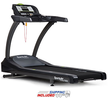 SportsArt T655S Status Series Club Treadmill with 5.0 HP AC Servo Motor