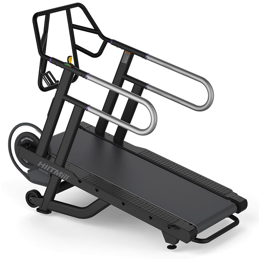 Stairmaster hiitmill self powered incline treadmill for for Best non motorized treadmill
