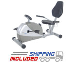 Programmable Magnetic Recumbent 4825 Exercise Bike