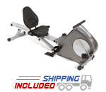 Stamina Conversion Recumbent Bike/Rower