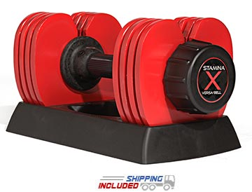 Stamina Versa-Bell adjustable dumbbell