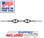 7' Single Parallel Handle Olympic Bar