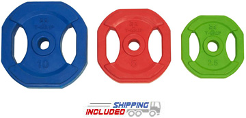 Rubber Encased Regular Grip Plates Set