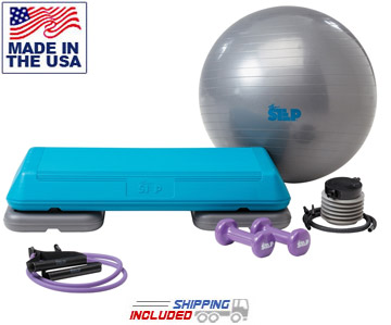 The Step F1090 Body Fusion with FREE workout DVD, Dumbbells, Stability Ball and Resistance Band