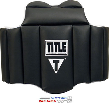 Title Boxing DBP Deluxe Body Protector with Velcro Closure for Snug Fit