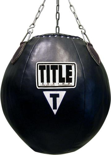 Boxing balls as punching bags