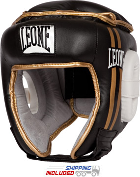 Leone Open Face Training Headgear