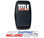 Title Boxing MMCTP MMA Contoured Leather Thai Pad with Forearm Straps