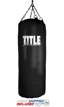 Title Boxing PHB-50 Platinum Pro Training Heavy Bag with Bottom Tie-Down