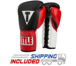 Title Boxing CCPFG Classic Corrupt Pro Fight Gloves Black with Red Accents