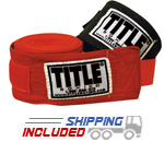 Title Boxing HW Classic Herringbone Weave Hand Wraps with Velcro Closure