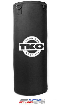 TKO Boxing TKO-OFF-CHAIN 50 lb. Double Shell Canvas Heavy Bag