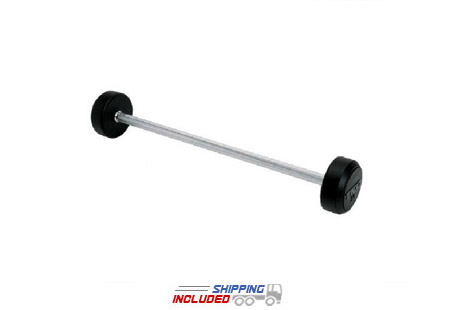 rubber encased barbell set