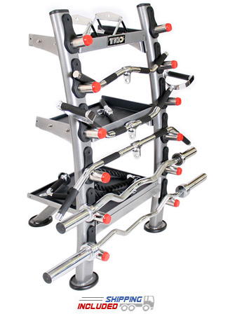 TKO 848ACR-SET Cable Attachment Storage Rack with Cable Attachments