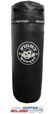 Fight Monkey All Purpose Commercial Vinyl Heavy Bag - 100 lb.