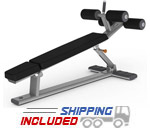 M Series Commercial Adjustable Abdominal Bench