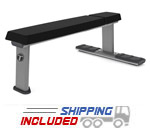 Torque Fitness M Series Commercial Flat Bench with Oval Tubing