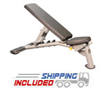 M Series Commercial Flat and Incline Bench