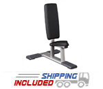 Torque Fitness M Series Commercial Utility Bench for Weightlifting