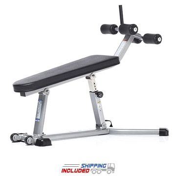 Evolution Light Commercial Adjustable Abdominal Bench