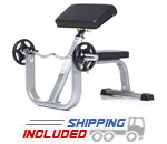 Evolution Light Commercial Seated Arm Curl Bench