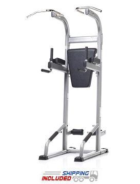 Evolution Light Commercial VKR / Chin / Dip / Ab Crunch / Push-Up Power Tower