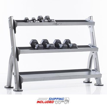 Evolution Light Commercial Reversible Dumbbell / Kettlebell / Medicine Ball Rack