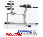 Evolution Light Commercial Glute Ham Bench