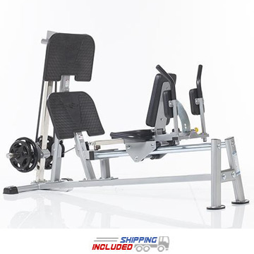 Evolution Light Commercial Horizontal Plate Loaded Leg Press / Hack Squat