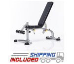 Tuff Stuff CMB-375 Evolution Light Commercial Multi-Purpose Adjustable Bench