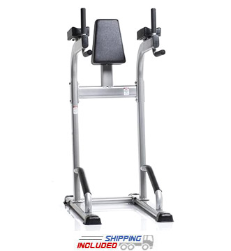 Evolution Light Commercial Vertical Knee Raise / Dip / Push Up Stand