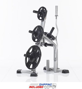 Evolution Light Commercial Olympic Plate Tree and Bar Holder