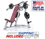 USA Made Tuff Stuff PPL-910 Plate Loaded Proformance Plus Incline Press for Commercial Clubs