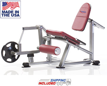 Tuff Stuff PPL-945 Plate Loaded Proformance Plus Leg Extension Machine
