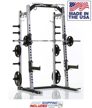 Tuff Stuff PXLS-7910 Pro-XL Half Rack for Commercial Gyms and Clubs