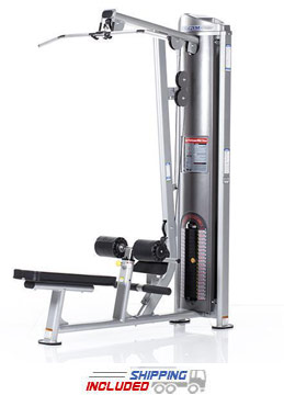 Tuff Stuff CG-7504 Selectorized Cal Gym Lat Pulldown / Low Row Combo