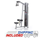 Tuff Stuff CG-7518 Selectorized Cal Gym Dual Handle Lat Pulldown Machine