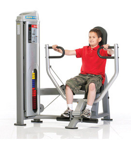 Tuff Stuff KDS-5502 Selectorized Kids Stuff Seated Chest Press for Kids Fitness and Exercise