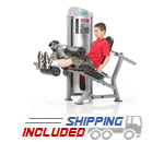 Tuff Stuff KDS-5513 Selectorized Kids Stuff Seated Leg Curl Machine for Kids Fitness and Exercise