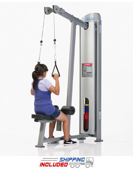 Tuff Stuff KDS-5518 Selectorized Kids Stuff Lat Pulldown Machine for Kids Fitness and Exercise
