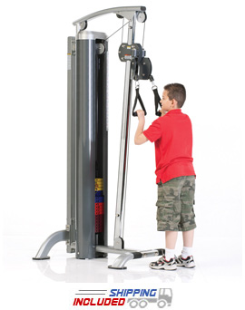 Tuff Stuff KDS-71HLH Selectorized Kids Stuff High Pulley System for Kids Fitness and Exercise