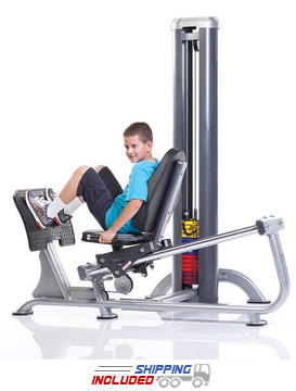 Tuff Stuff KDS-71LPS Selectorized Kids Stuff Leg Press System for Kids Fitness and Exercise