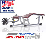 Tuff Stuff PPL-950 Plate Loaded Proformance Plus Prone Leg Curl