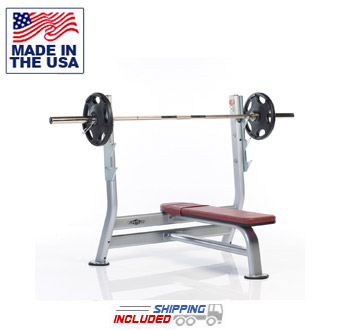 Tuff Stuff PPF-707 Proformance Plus Olympic Flat Bench Press