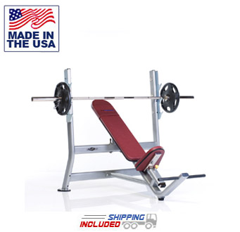 Tuff Stuff PPF-708 Proformance Plus Incline Olympic Bench Press