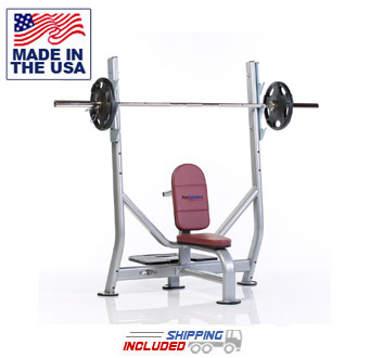 Olympic Military Bench Press