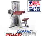 Tuff Stuff PPS-206 Selectorized Proformance Plus Bicep Curl