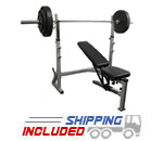 Flat/Incline/Decline Olympic Bench