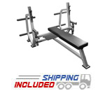Valor Athletics BF-49 Olympic Weight Bench with Spotter Platform